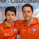 Nicolás Burgos clasificó a los Juegos Olímpicos de la Juventud 2018