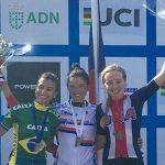 Paola y Matías Muñoz se titularon campeones panamericanos de ciclismo en ruta