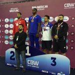 Yasmani Acosta ganó medalla de plata en el Panamericano de Lucha Olímpica