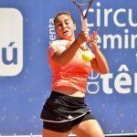 Bárbara Gatica avanzó a cuartos de final de dobles en el ITF de Caserta