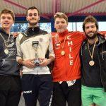 Esgrimistas nacionales se suben al podio en torneo regional español