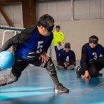 Metropolitana, Araucanía y Los Ríos ganan en primer día del goalball en los Juegos Paranacionales
