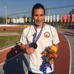 Carlos Díaz y Karen Gallardo sumaron las primeras medallas chilenas en el Sudamericano de Atletismo