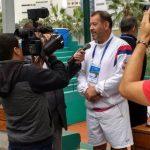 Tenista Claudio Rojas es el nuevo número uno del mundo en la categoría 50 años