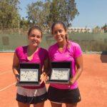 Fernanda Brito se tituló campeona de dobles del ITF de Hammamet
