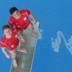 Donato Neglia y Diego Carquín obtuvieron el puesto 20 en los clavados del Mundial de Natación