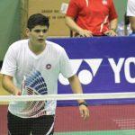 Alonso Medel alcanzó los cuartos de final del Guatemala Future Series de Badminton