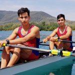 César Abaroa y Eber Sanhueza clasifican a semifinales del Mundial Sub 23 de Remo