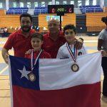 Chile suma sus primeras medallas en el Panamericano Infantil de Esgrima