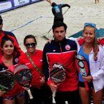 Chile cayó en su estreno por el cuadro principal del Mundial de Tenis Playa