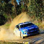 Cristóbal Vidaurre ganó la primera etapa del Gran Premio de Frutillar del RallyMobil