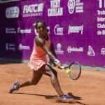 Daniela Seguel cayó en cuartos de final de dobles del WTA de Newport Beach