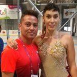 Francisca Cabrera finalizó en el sexto lugar del patinaje artístico en los World Games