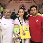 Francisca Ríos obtuvo medalla de bronce en el Chuncheon Korea Open de Taekwondo