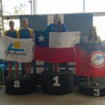 Isidora Letelier obtuvo el primer lugar en el Open de Portugal de Nado Sincronizado