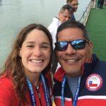 Mahina Valdivia terminó quinta en los 10K de aguas abiertas en los Juegos Bolivarianos