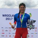 María José Moya gana medalla de oro en el patín carrera de los World Games 2017