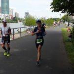 Pamela Tastets obtuvo el noveno lugar en el Ironman de Frankfurt