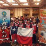 Selección Chilena de Wushu obtuvo el tercer lugar en el Sudamericano realizado en Uruguay