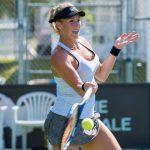 Alexa Guarachi cayó en primera ronda de dobles del ITF de Albuquerque
