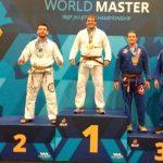Francisco Maldonado gana medalla de plata en el Mundial de Jiu-jitsu