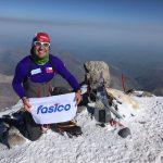 Hernán Leal alcanzó la cumbre del monte europeo Elbrus