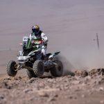 Ignacio Casale ganó la categoría quads en la cuarta etapa del Atacama Rally