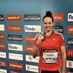 Kristel Köbrich ganó medalla de bronce en fecha holandesa de la Copa del Mundo de Natación