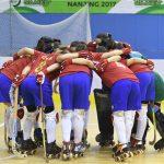 """Las """"Marcianitas"""" derrotaron a Italia en nueva jornada de los World Roller Games"""