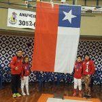 Chile sumó dos medallas en primera jornada del Sudamericano Infantil y Veteranos de Esgrima