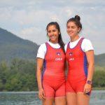 Yoselyn Cárcamo y Magdalena Bravo avanzaron a cuartos de final en el Mundial Juvenil de Remo