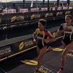 Barbara Riveros tuvo un fin de semana de contrastes en la Super League Triathlon