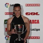 Christiane Endler recibió el Premio Zamora a la arquera menos batida de la Liga Española Femenina