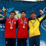 Cristóbal Baeza ganó medalla de oro en el triatlón de los Juegos Suramericanos de la Juventud