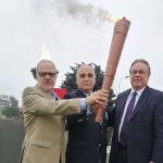 Este miércoles se encendió el Fuego Suramericano que estará en los Juegos Santiago 2017