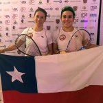 Giselle Delgado y Anita Pinto se titularon bicampeonas panamericanas de Squash