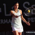 Ivania Martinich cayó en la primera ronda del W15 de Sharm El Sheikh