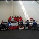 Selección Chilena ocupó el sexto lugar del Panamericano de Rugby en Silla de Ruedas