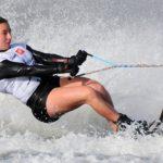 Valentina González comenzó su participación en el Mundial de Esquí Náutico