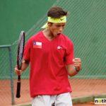 Alan Sanson avanzó a octavos de final del tenis en los Juegos Suramericanos de la Juventud