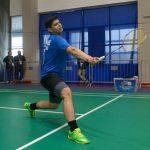 Alonso Medel alcanzó los octavos de final en el Brazil International Badminton Cup