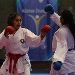 Francisco Pizarro y Amapola Iturra ganaron bronce en el karate de los Juegos Suramericanos de la Juventud