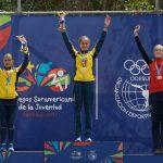 Catalina Vidaurre gana otro bronce para Chile en los Juegos Suramericanos de la Juventud
