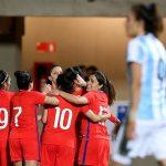 La Roja Femenina goleó a Argentina en partido amistoso disputado en Ovalle