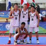 Chile se instala en semifinales del básquetbol 3x3 en los Juegos Suramericanos de la Juventud