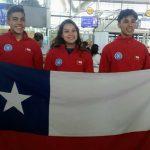 Alejandra Contreras ocupó el cuarto lugar en la final de boulder en el Panamericano Juvenil de Escalada