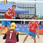 Duplas nacionales debutaron en el volleyball playa de los Juegos Suramericanos de la Juventud