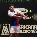 Christian Garin cayó en los octavos de final del Challenger de Lima