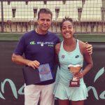 Daniela Seguel se tituló campeona del ITF 25K de Sevilla