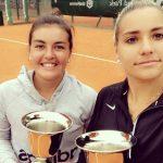 Fernanda Brito se quedó con el título de dobles del ITF de Buenos Aires